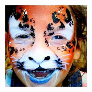 Tick Boom Face Painting Children Brighton Hove Sussex South East England London-1