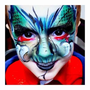 Tick Boom Face Painting Children Brighton Hove Sussex South East England London