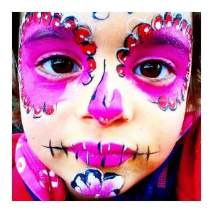 Tick Boom Face Painting Children Halloween Brighton Hove Sussex South East England London