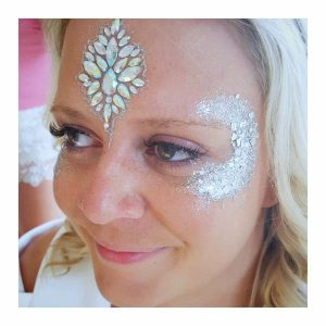 Tick Boom Face Painting Wedding face Painting Brighton Hove Sussex South East England London