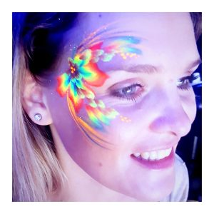 Tick Boom UV Face Painting Brighton Hove Sussex South East England London-1