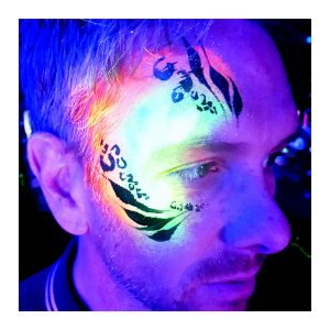 Tick Boom UV Face Painting Brighton Hove Sussex South East England London